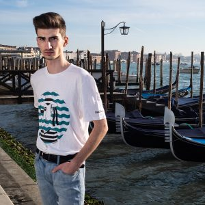 Feelin Venice t-shirt gondoliere